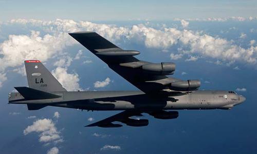Máy bay B-52 của quân đội Mỹ. Ảnh: Boeing