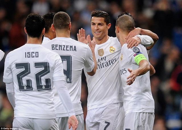 Ronaldo kết thúc vòng bảng mùa này với 11 bàn. Ảnh: Reuters