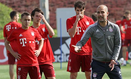 Guardiola muốn các học trò chuyên nghiệp hơn trong tập luyện cho mục tiêu chung - chinh phục Champions League vào cuối mùa. Ảnh: Reuters.