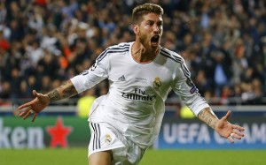 Football Real Madrid v Athletico Madrid Champions League