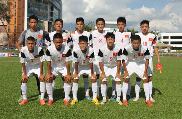 U14 Việt Nam thua đậm U14 Hàn