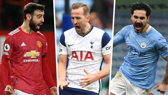 Fernandes, Kane và Đội hình tiêu biểu của Premier League